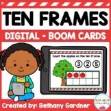 Apple Tree Ten Frames Boom Cards