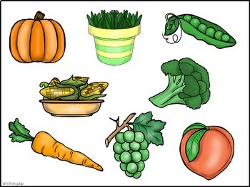 Sort and Stick: Thanksgiving Categories