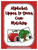 Apple & Tree Upper / Lower Case Alphabet Match