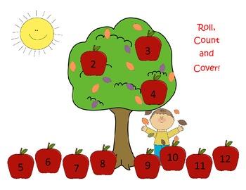 Apple Tree math #2-12
