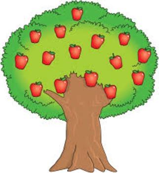 Apple Tree math lesson