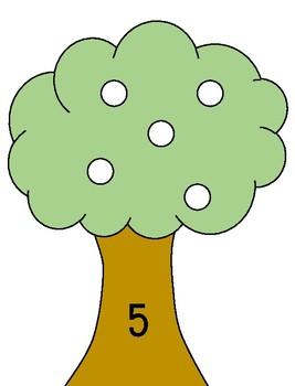 Apple Tree math mats