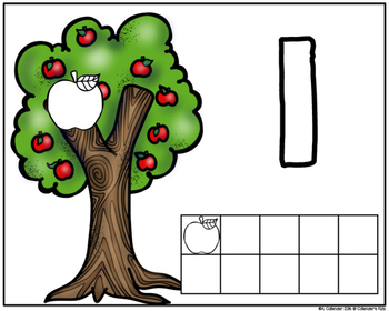 Apple Tree (play-doh) Mats