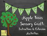 Apple Trees Sensory Craftivity