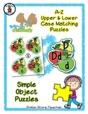 Apple Trio - Autumn theme - Alphabet / Letter Puzzles - Si