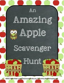 Apple Trivia Scavenger Hunt