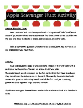Apple Trivia SCOOT