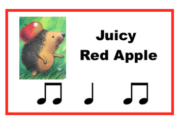 Apple Trouble - A Music Lesson for K-2