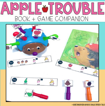 Apple Trouble Book and Game Companion