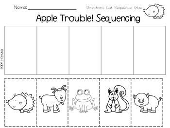 Apple Trouble! Sequencing Activity