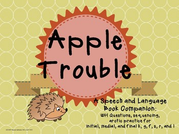 Apple Trouble: Speech and Language Companion