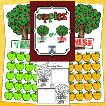 Apple True or False Addition and Subtraction