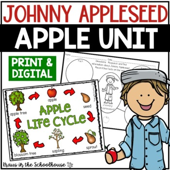 Apple Unit - Activities to Celebrate Johnny Appleseed Day