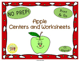 Apples Worksheets Activities Games Printables and More