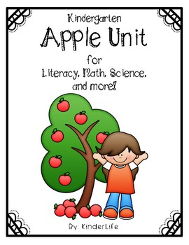 Apple Unit: Literacy, Math, Science and More!