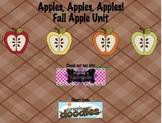 Apple Unit Activities for Kindergarten
