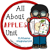 Apple Unit Kindergarten Fall Science