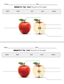 Apple Unit Exit Slips