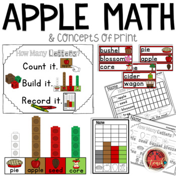 Apple Activities: Apple Literacy and Math