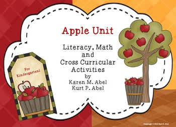 Apple Unit - Kindergarten Literacy, Math, Science, Social