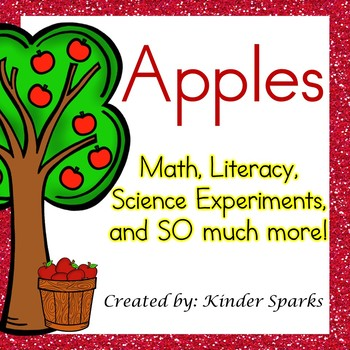 Apple Unit: Math, Literacy, Science, and More
