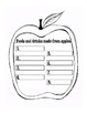 Apple Unit Writing Activities and Graphic Organizers