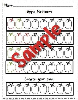 Apple Unit Pattern Practice