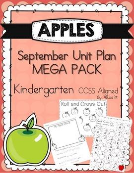 Apple Unit Plan Mega Pack