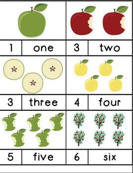 Fall Apple Unit-Preschool/Kindergarten