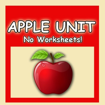 Apple Unit Preschool No Worksheets Head Start Approved