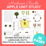 Apples! Math, Literacy and Botany Activities! Montessori Inpired
