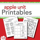 Apple Unit Worksheets
