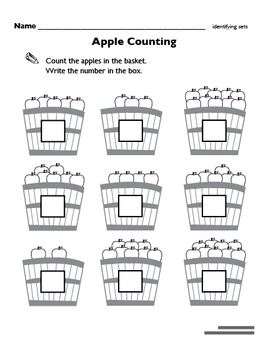 Apple Unit Worksheets