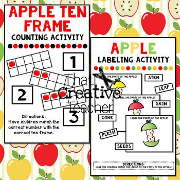 Apple Unit for Pre-K & Kindergarten Classrooms