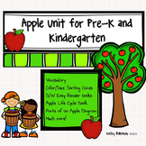 Apple Unit for Preschool and Kindergarten