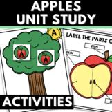 Apple Unit for Preschool and Kindergarten with Activities