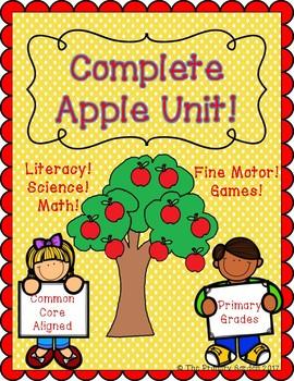 Apple Unit for Primary Grades