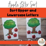 Multi-Sensory Letter Sort Apple Theme
