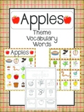 Apple Vocabulary Cards