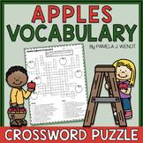 Apple Vocabulary Crossword Puzzle