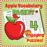 Apple Vocabulary Puzzle Bundle