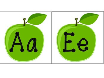 Apple Vowels