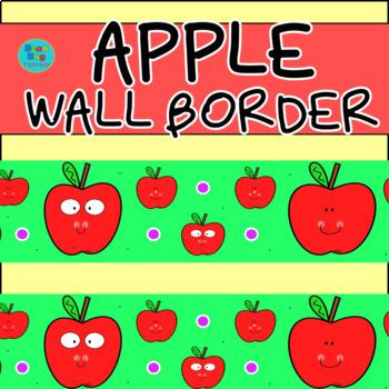 Apple Wall Border / Bulletin Board Display Border
