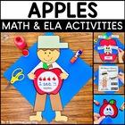 Apples! Math, Literacy, & Writing Activities!