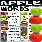 Apple Word Cards