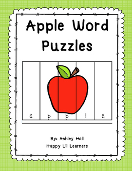 Apple Word Puzzles