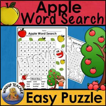Apple Word Search * Easy