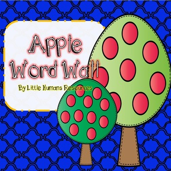 Apple Word Wall