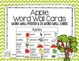 Apple Word Wall Cards