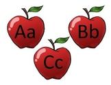 Apple Word Wall Headers